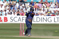 Ashar Zaidi hits out for Essex during Essex Eagles vs Surrey, Vitality Blast T20 Cricket at The Cloudfm County Ground on 5th August 2018