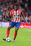Atletico de Madrid's Thomas Teye during La Liga match between Atletico de Madrid and Malaga CF at Wanda Metropolitano in Madrid, Spain September 16, 2017. (ALTERPHOTOS/Borja B.Hojas)