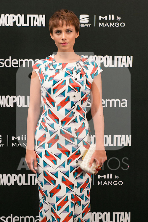Aura Garrido attend the photocall of the Cosmopolitan Fun Fearless Female 2014 Awards at the Ritz Hotel in Madrid, Spain. October 20, 2014. (ALTERPHOTOS/Carlos Dafonte)
