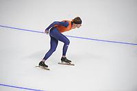 OLYMPIC GAMES: PYEONGCHANG: 09-02-2018, Gangneung Oval, Training session, Bob de Vries (NED), ©photo Martin de Jong
