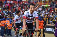 TUNJA - COLOMBIA, 11-02-2020: Fabio Aru (ITA) del equipo UAE TEAM EMIRATES durante la primera del Tour Colombia 2.1 2020 que se correrá en Boyacá, Colombia entre el 11 y 16 de febrero de 2020. / Fabio Aru (ITA) of he team UAE TEAM EMIRATES during the launch of Tour Colombia 2.1 2020 that that will run between February 11 and 16, 2020 in Boyacá, Colombia.  Photo: VizzorImage / Darlin Bejarano / Cont
