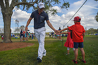 Martin Kaymer (GER) makes two young fans' day on his way to the tee on 8 during round 3 of the Arnold Palmer Invitational at Bay Hill Golf Club, Bay Hill, Florida. 3/9/2019.<br /> Picture: Golffile | Ken Murray<br /> <br /> <br /> All photo usage must carry mandatory copyright credit (© Golffile | Ken Murray)