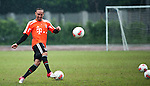 GUANGZHOU, GUANGDONG - JULY 26:  Franck Ribery of Bayern Munich during a training session ahead the friendly match against VfL Wolfsburg as part of the Audi Football Summit 2012 on July 26, 2012 at the Tianhe Sports Stadium in Guangzhou, China. Photo by Victor Fraile / The Power of Sport Images