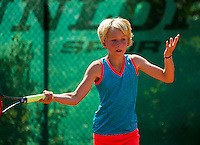 Netherlands, Dordrecht, August 03, 2015, Tennis,  National Junior Championships, NJK, TV Dash 35, Tesse Haan<br /> Photo: Tennisimages/Henk Koster
