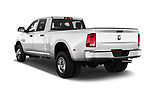 Car pictures of rear three quarter view of 2017 Ram Ram 3500 Tradesman Crew Cab Long 4 Door Pick Up angular rear