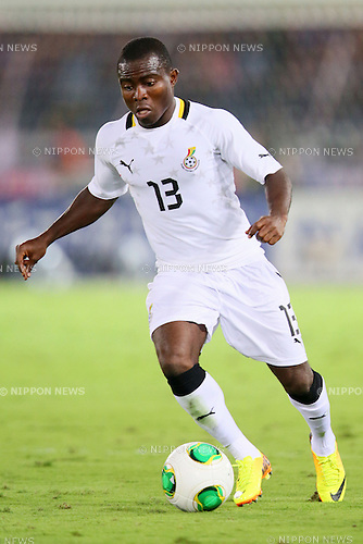 Frank Acheampong (GHA), SEPTEMBER 10, 2013 - Football / Soccer : KIRIN Challenge Cup 2013 match <br /> between Japan 3-1 Ghana<br /> at Nissan Stadium in Kanagawa, Japan. <br />  (Photo by Yusuke Nakanishi/AFLO SPORT)