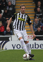 Marc McAusland in the St Mirren v Ross County Scottish Professional Football League Premiership match played at St Mirren Park, Paisley on 3.5.14.