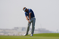 Joost Luiten (NED) on the 9th during Round 3 of the Oman Open 2020 at the Al Mouj Golf Club, Muscat, Oman . 29/02/2020<br /> Picture: Golffile   Thos Caffrey<br /> <br /> <br /> All photo usage must carry mandatory copyright credit (© Golffile   Thos Caffrey)