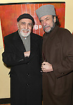 George Morfogen & F. Murray Abraham.attending the Opening After Party for the Classic Stage Theatre Company production of UNCLE VANYA at Pangea Restaurant in New York City. February 12, 2009.© Walter McBride