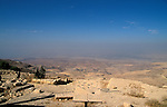 Jordan, the view West of Mount Nebo towards the Jordan Valley&amp;#xA;<br />