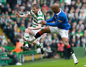 :: RANGERS' EL HADJI DIOUF GOES IN LATE ON CELTIC'S MARK WILSON ::