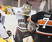 (Mike Brennan) Joe Pearce, Darroll Powe - Boston College defeated Princeton University 5-1 on Saturday, December 31, 2005 at Magness Arena in Denver, Colorado to win the Denver Cup.  It was the first meeting between the two teams since the Hockey East conference began play.