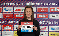 Laura Muir (Great Britain) – 1500m - European champion and multi-British record holder during the Muller Anniversary Games 2019 pre-event media day at the Leonardo Royal Hotel, Prescod Street, England on 19 July 2019. Photo by Alan  Stanford.