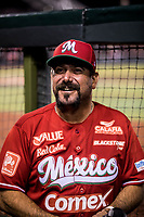 Benjamin Hill manager de Mexico  durante la Serie del Caribe .<br /> <br /> Baseball game of the Caribbean Series, with the match between the Tomateros of Culiacan of Mexico against the Cibae&ntilde;as Eagles of the Dominican Republic at the Pan American Stadium in Guadalajara, Mexico, Tuesday 6 Feb 2018.<br /> (Photo: Luis Gutierrez)<br /> <br /> Partido de beisbol de la Serie del Caribe con el encuentro entre los Tomateros de Culiacan de Mexico contra las &Aacute;guilas Cibae&ntilde;as  de Republica Dominicana  en estadio Panamericano en Guadalajara, M&eacute;xico, Martes 6 feb 2018. <br /> (Foto: Luis Gutierrez)