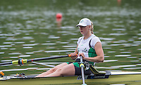 Lucerne, SWITZERLAND<br /> IRL. W1X.  Sanita PURSPURE.<br /> 2016 European Olympic Qualifying Regatta, Lake Rotsee.<br /> <br /> Monday  23/05/2016<br /> <br /> [Mandatory Credit; Peter SPURRIER/Intersport-images]