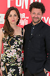 "The actors Leonor Watling (Left) and Richard Coyle (Right) attend the photocall at the presentation of the movie ""The Food Guide to Love (Amor En Su Punto)"" at Kitchen Club in Madrid, Spain. May 05, 2014. (ALTERPHOTOS/Carlos Dafonte)"