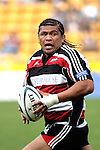 Luke Mealamu makes a strong run during the Air New Zealand Cup rugby game between Counties Manukau & Hawkes Bay played at Mt Smart Stadium, 30th of September 2006. Hawkes Bay won 30 - 29.