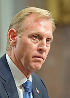 Patrick M. Shanahan appears before the United States Senate Committee on Armed Services on his nomination to be US Deputy Secretary of Defense on Capitol Hill in Washington, DC on Tuesday, June 20, 2017.<br /> Credit: Ron Sachs / CNP /MediaPunch