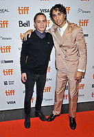 """05 September 2019 - Toronto, Ontario Canada - Keir Gilchrist, Alex Wolff. 2019 Toronto International Film Festival - """"Castle In The Ground"""" Premiere held at TIFF Bell Lightbox. <br /> CAP/ADM/BPC<br /> ©BPC/ADM/Capital Pictures"""