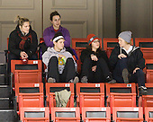 Members of the BU Terriers attended the game. - The Northeastern University Huskies defeated the visiting Clarkson University Golden Knights 5-2 on Thursday, January 5, 2012, at Matthews Arena in Boston, Massachusetts.