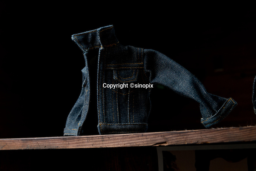 MAY 16, 2014 - KOJIMA, KURASHIKI, JAPAN: Betty Smith CO., Jeans company's Jeans Museum.  (Photograph / Ko Sasaki)