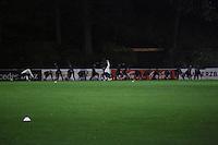 Mannschaft macht sich warm - Training der Deutschen Nationalmannschaft, Sportschule Barsinghausen