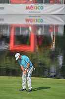 Chez Reavie (USA) watches his putt on 17 during round 1 of the World Golf Championships, Mexico, Club De Golf Chapultepec, Mexico City, Mexico. 3/1/2018.<br /> Picture: Golffile | Ken Murray<br /> <br /> <br /> All photo usage must carry mandatory copyright credit (&copy; Golffile | Ken Murray)
