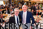 Joe Brolly with Kerry captain Kieran Donaghy at the Austin Stacks fundraiser at Ballygarry house hotel on Friday.