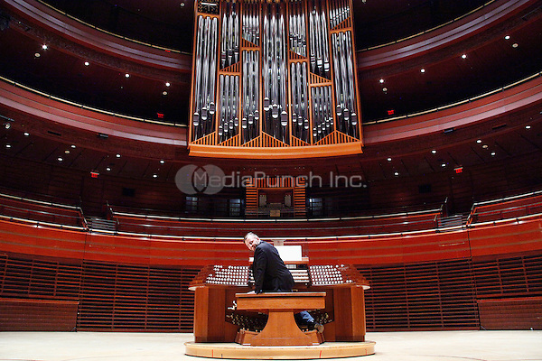 PHILADELPHIA, PA - MAY 28 : Fred J Cooper Memorial Organ played by Dr. Steven Ball at the Kimmel Center in Philadelphia, Pa on May 28, 2015 photo credit Star Shooter / MediaPunch