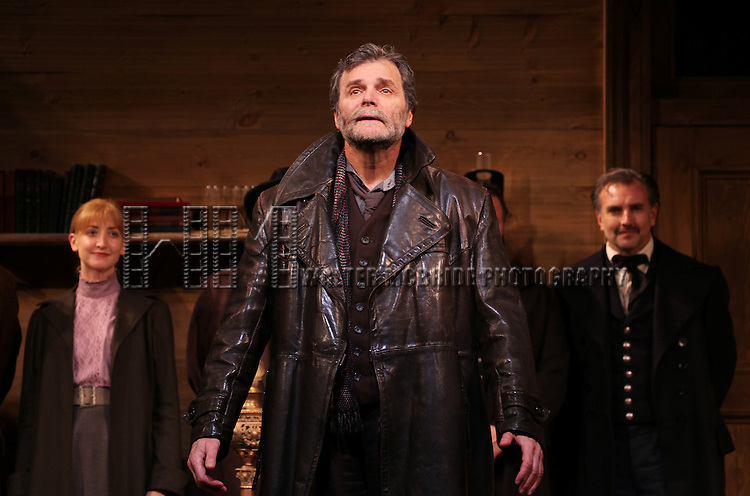 John Procaccino during the Broadway Opening Night Performance Curtain Call for  'An Enemy of the People' at the Samuel J. Friedman Theatre in New York. Sept. 27, 2012