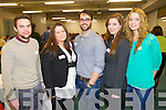 Pictured at the Steps to Success Business Networking Event at the IT on Thursday evening were l-r: Cormac Brick, Ide Keating, Adrian McCarthy (Ktown Media) Whitney Jordan and Marion Collins..