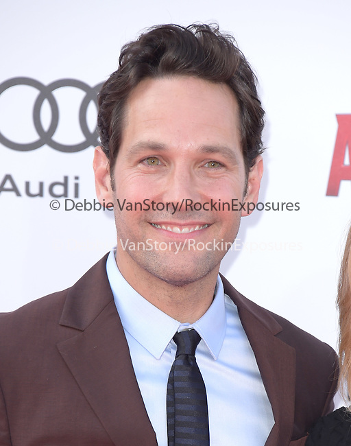 "Paul Rudd attends The Premiere Of Marvel's ""Ant-Man"" held at The Dolby Theatre  in Hollywood, California on June 29,2015                                                                               © 2015 Hollywood Press Agency"