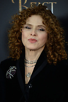 www.acepixs.com<br /> March 13, 2017  New York City<br /> <br /> Bernadette Peters arriving at the New York special screening of Disney's live-action adaptation 'Beauty and the Beast' at Alice Tully Hall on March 13, 2017 in New York City.<br /> <br /> Credit: Kristin Callahan/ACE Pictures<br /> <br /> Tel: 646 769 0430<br /> Email: info@acepixs.com