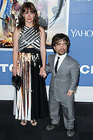 "NEW YORK CITY, NY, USA - MAY 10: Erica Schmidt, Peter Dinklage at the World Premiere Of Twentieth Century Fox's ""X-Men: Days Of Future Past"" held at the Jacob Javits Center on May 10, 2014 in New York City, New York, United States. (Photo by Jeffery Duran/Celebrity Monitor)"