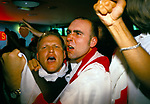 WORLD CUP FANS, LONDON 26 JUNE'98 ENGLAND EAT COLOMBIA TWO GOALS TO NIL, 1998