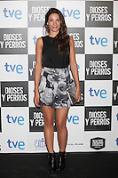 Raquel Quintana poses at `Dioses y perros´ film premiere photocall in Madrid, Spain. October 07, 2014. (ALTERPHOTOS/Victor Blanco) /nortephoto.com