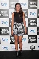 Raquel Quintana poses at `Dioses y perros´ film premiere photocall in Madrid, Spain. October 07, 2014. (ALTERPHOTOS/Victor Blanco) /nortephoto.com