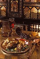 Afrique/Egypte/Le Caire: Pigeonneaux farcis au riz épicé