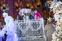 LAS VEGAS, NV - November 20 : John Capraella with Gilles Marini with his wife Carole, daughter Juiliana, and son Georges pictured as The Venetian and The Palazzo kick off 2nd annual Winter in Venice on November 20, 2012 at The Venetian in Las Vegas, Nevada.  Credit: Kabik/ Starlitepics / MediaPunch Inc.