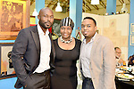 MIAMI, FL - DECEMBER 05: Actor Jimmy Jean-Louis, Marleine Bastien and Haiti Counsel General Stephane Gilles attends the NE2P Art Beat Miami Chef Creole Celebrity Brunch at the Little Haiti Cultural Center on Saturday December 05, 2015 in Doral, Florida.  ( Photo by Johnny Louis / jlnphotography.com )