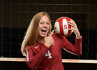 Stanford, Ca - Friday, August 10, 2018: Stanford Women's Volleyball Marketing Photo Shoot 2018.