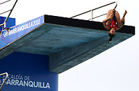 BARRANQUILLA - COLOMBIA, 22-07-2018: Competidora Gabriela Agundez de México , modalidad 10m plataforma.Juegos Centroamericanos y del Caribe Barranquilla 2018. /Competitor Gabriela Agundez of Mexico, 10m platform platform of the Central American and Caribbean Sports Games Barranquilla 2018. Photo: VizzorImage /  Contribuidor