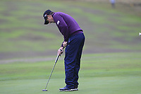 Padraig Harrington (IRL) on the 1st fairway during Round 4 of the Sky Sports British Masters at Walton Heath Golf Club in Tadworth, Surrey, England on Sunday 14th Oct 2018.<br /> Picture:  Thos Caffrey | Golffile