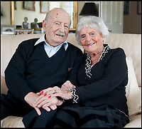 Oldest married couple finally parted.