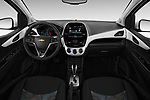 Stock photo of straight dashboard view of 2017 Chevrolet Spark 1LT 5 Door Hatchback Dashboard