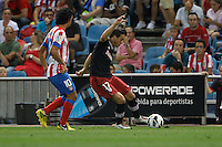 27.08.2012 SPAIN -  La Liga 12/13 Matchday 2th  match played between Atletico de Madrid vs Athletic Club de Bilbao (4-0) with hat-trick Radamel Falcao at Vicente Calderon stadium. The picture show Inigo Perez Soto (Spanish midfielder of Athletic)