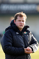 Ealing Trailfinders director of rugby, Ben Ward 'during the Championship Cup Quarter Final match between Ealing Trailfinders and Nottingham Rugby at Castle Bar , West Ealing , England  on 2 February 2019. Photo by Carlton Myrie / PRiME Media Images.