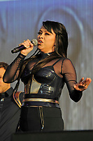 LONDON, ENGLAND - SEPTEMBER 9: Lisa Scott-Lee of 'Steps' performing at BBC Proms in The Park, Hyde Park on September 9, 2017 in London, England.<br /> CAP/MAR<br /> &copy;MAR/Capital Pictures