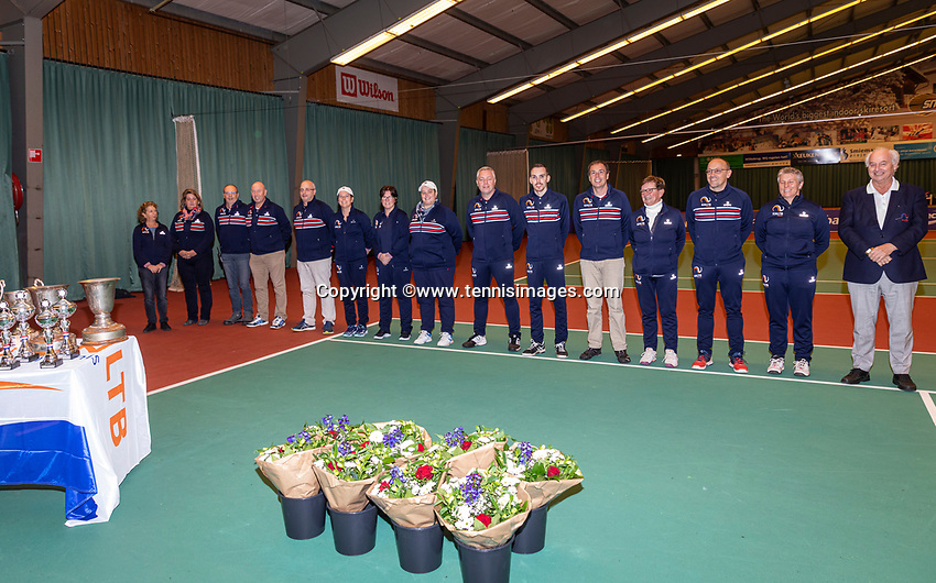 Wateringen, The Netherlands, December 8,  2019, De Rhijenhof , NOJK juniors 14 and18 years, umpires <br /> Photo: www.tennisimages.com/Henk Koster