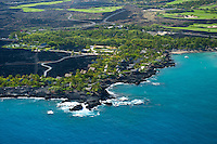 Aerial view of The Kona Village Resort
